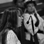 Alexandra Brorson sjöng